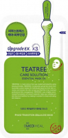 MEDIHEAL - TEATREE CARE SOLUTION ESSENTIAL MASK EX. - Sheet mask, soothing and firming - Tea tree - 25 ml