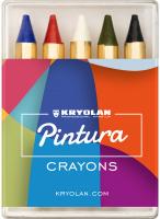 KRYOLAN - Bodypainting Crayons - 5 pcs. - ART. 91030