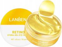 LANBENA - RETINOL HYDRA GEL EYE PATCHES - Hydrożelowe płatki pod oczy z retinolem - 30 par