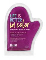 MineTan - Bronze On Applicator Mitt - Rękawica do aplikacji samoopalacza - Fioletowa