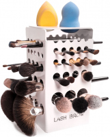 LashBrow - STANDARD WHITE - Dryer for 42 make-up brushes - White