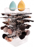 LashBrow - STANDARD CLEAR - Dryer for 42 make-up brushes - Transparent