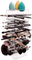 LashBrow - PREMIUM CLEAR - Dryer for 66 make-up brushes - Transparent