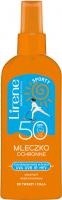 Lirene - SPORTY - Mleczko ochronna do twarzy i ciała - SPF 50 - 150 ml