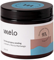Melo - Detoksykujący peeling do twarzy i ciała z błotem z Morza Martwego - 200 ml