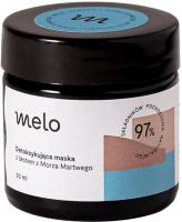 Melo - Detoksykująca maska do twarzy z błotem z Morza Martwego - 30 ml