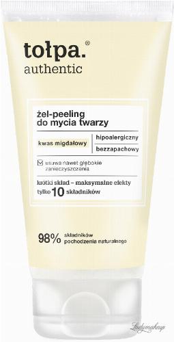 Tołpa - Authentic - Facial peeling gel with almond acid - 150 ml