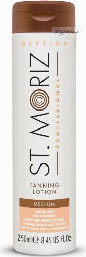 ST. MORIZ - Tanning Lotion - Bronzing body lotion - Medium - 250 ml