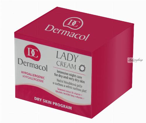 Dermacol - Lady Cream - Krem rewitalizujący na dzień - OPTYMALNE ODŻYWIENIE