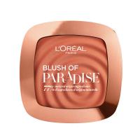 L'Oréal - BLUSH OF PARADISE - Prasowany róż do twarzy - 03 Melon dollar baby