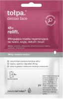Tołpa - Dermo Face 45+ Relift. - Liftingująca maska regenerująca na twarz, szyję, dekolt i biust - 2 x 6 ml