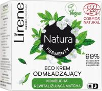 Lirene - Natura Fermenty - Odmładzający eco krem do twarzy - Kombucha i Matcha - 50 ml