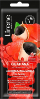 Lirene - Guarana Anti Aging Nectar - Firming face mask - Guarana & Yerba Mate - 7 ml