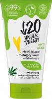 UNDER TWENTY - ANTI ACNE Moisturizing and Mattifying Cream - Nawilżająco-matujący krem antybakteryjny - 50 ml