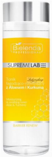 Bielenda Professional - SUPREMELAB - BARRIER RENEW - Łagodząco-nawilżający tonik z aloesem i kurkumą - 200 ml