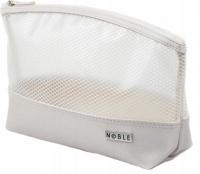 NOBLE - Large transparent cosmetic bag - STRIPE ST007