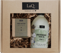LaQ - Wild Savage - Gift Set for Men - 8 in 1 Shower Gel - 500 ml + Face Butter 50 ml
