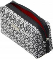 NOBLE - Small, women's toiletry bag - Black & White BW001
