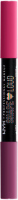 NYX Professional Makeup - SHAPE LOUD - Matte Lip Duo - Dwustronna kredka do ust - PRIDE 2021