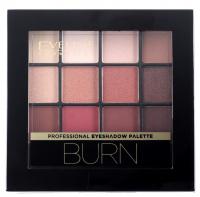 Eveline Cosmetics - Professional Eyeshadow Palette - Paleta 12 cieni do powiek - 03 BURN