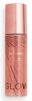 MAKEUP REVOLUTION - GLOW RADIANCE - FACE & BODY SHIMMER OIL - Liquid illuminating oil for body and face - Pink - 100 ml