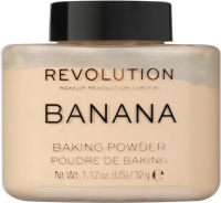 MAKEUP REVOLUTION - BANANA BAKING POWDER - Sypki puder bananowy - 32 g