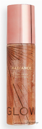 MAKEUP REVOLUTION - GLOW RADIANCE - FACE & BODY SHIMMER OIL - Liquid illuminating oil for body and face - Gold - 100 ml
