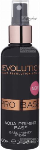 MAKEUP REVOLUTION - PRIMER BASE - AQUA PRIMING WATER - Baza pod makijaż w spray'u