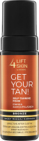 Lift4Skin - GET YOUR TAN! - Self-Tanning Foam - Self-tanning body foam - Bronze - 150 ml