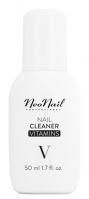 NeoNail - NAIL CLEANER VITAMINS - Odtłuszczacz do paznokci z witaminami - 50 ml