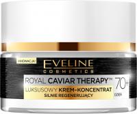 Eveline Cosemtics - ROYAL CAVIAR THERAPY 70+ - Luksusowy krem-koncentrat do twarzy ze śluzem ślimaka - Dzień - 50 ml