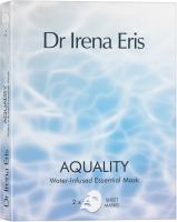 Dr Irena Eris - AQUALITY - Water-Infused Essential Mask - Moisturizing and rejuvenating sheet mask - 2 pcs.