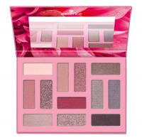 Essence - OUT IN THE WILD Eyeshadow Palette - Paleta 12 cieni do powiek - 01 Don't stop blooming!