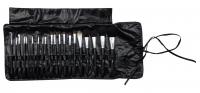Delfa - Set of 20 make-up brushes + case