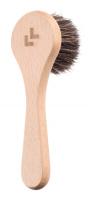 LULLALOVE - Szczotka do masażu twarzy i szyi - 100% włosie końskie