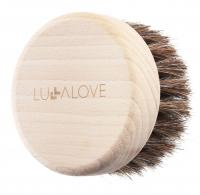 LULLALOVE - Miękka szczotka do biustu, szyi i dekoltu - 100% włosie końskie