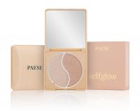 PAESE - Self Glow Highlighter - Podwójny rozświetlacz do twarzy - Ultra Glow