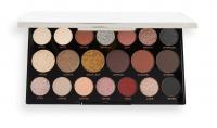 MAKEUP REVOLUTION - Precious Glamor MegaStar Eyeshadow Palette - Palette of 20 eyeshadows - Crystal Lux