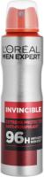 L'Oréal - MEN EXPERT - INVINCIBLE DEODORANT 96H - Deodorant / Antiperspirant spray for men 96H - 150 ml