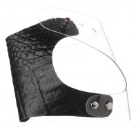 Goodluck MUA - GLOVE PALETTE - Profesjonalna rękawiczka do wizażu - EKO Skóra - Black Crocs