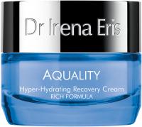 Dr Irena Eris - AQUALITY - Hyper-Hydrating Recovery Cream - Deeply moisturizing regenerating face cream - Day / Night - 50 ml