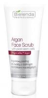 Bielenda Professional - Argan Face Scrub With Plant Stem Cells - Arganowy peeling do twarzy z roślinnymi komórkami macierzystymi - 150 g
