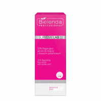 Bielenda Professional - SUPREMELAB - SENSITIVE SKIN - 10% Regulating Face Serum with Azelaic Acid - 10% Regenerating face serum with azelaic acid - 50 ml