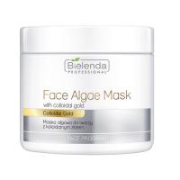 Bielenda Professional - Face Algae Mask with Colloidal Gold - Maska algowa do twarzy z koloidalnym złotem - 190 g