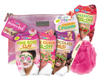 7th Heaven (Montagne Jeunesse) - Pretty In Pink - Gift set - 5 x mask + washcloth