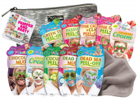 7th Heaven (Montagne Jeunesse) - PAMPER AND PARTY - Gift set - 10 x mask + towel