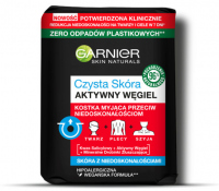 GARNIER - CLEAN SKIN - Active Charcoal - Washing bar against imperfections - 100 g