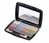 Ruby Rose - Creamy Eyeshadow Kit - Paleta kremowych cieni do powiek HB-1012