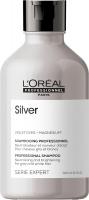 L'Oréal Professionnel - SERIE EXPERT - SILVER - PROFESSIONAL SHAMPOO - Szampon neutralizujący i rozjaśniający włosy siwe i białe - 300 ml