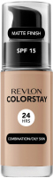 REVLON - COLORSTAY™ FOUNDATION - Podkład do cery tłustej i mieszanej - 30 ml - 320 - TRUE BEIGE - 320 - TRUE BEIGE